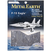 F-15 Eagle Metal Earth 3D Model Kit